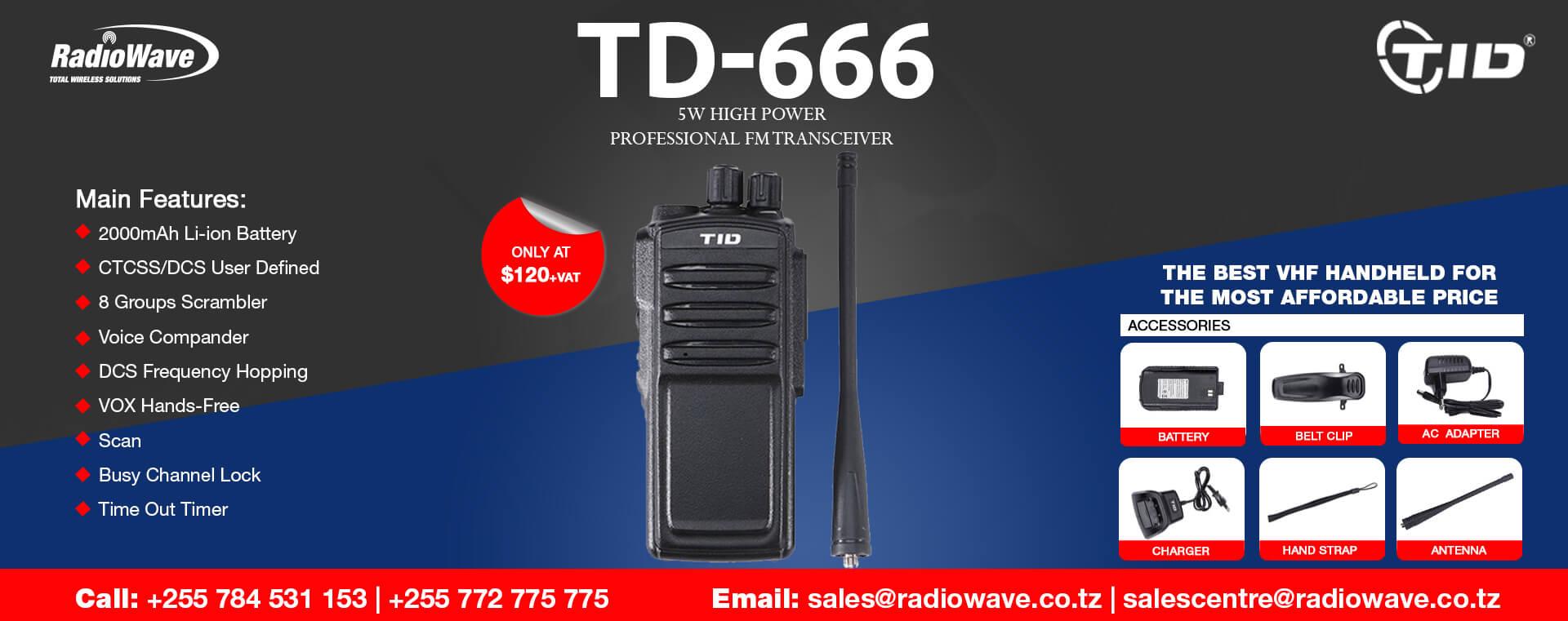 td-666-radio