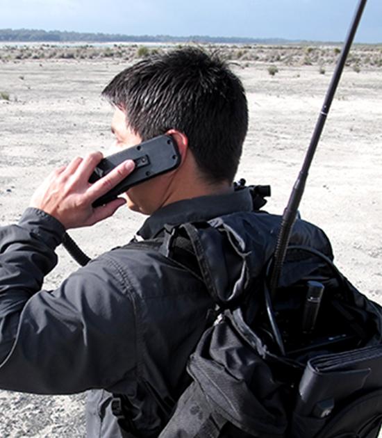 Barrett Communications: 2090 HF Manpack Transceiver